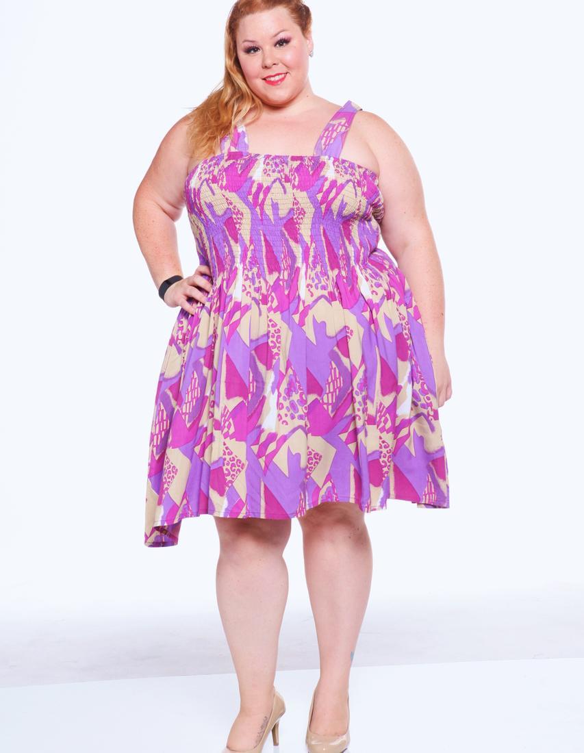 Smock dresses plus size - PlusLook.eu Collection