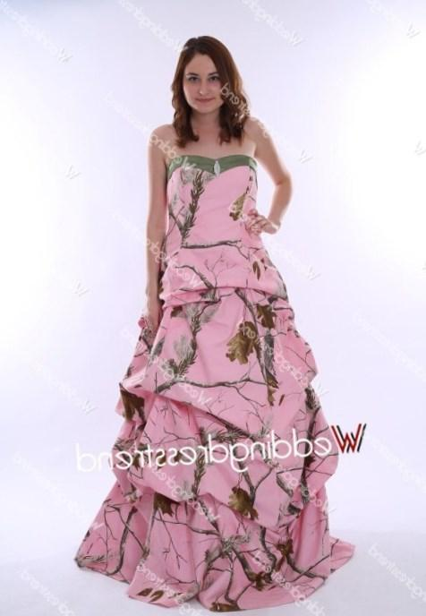 Pink Camo Prom Dresses On Sale