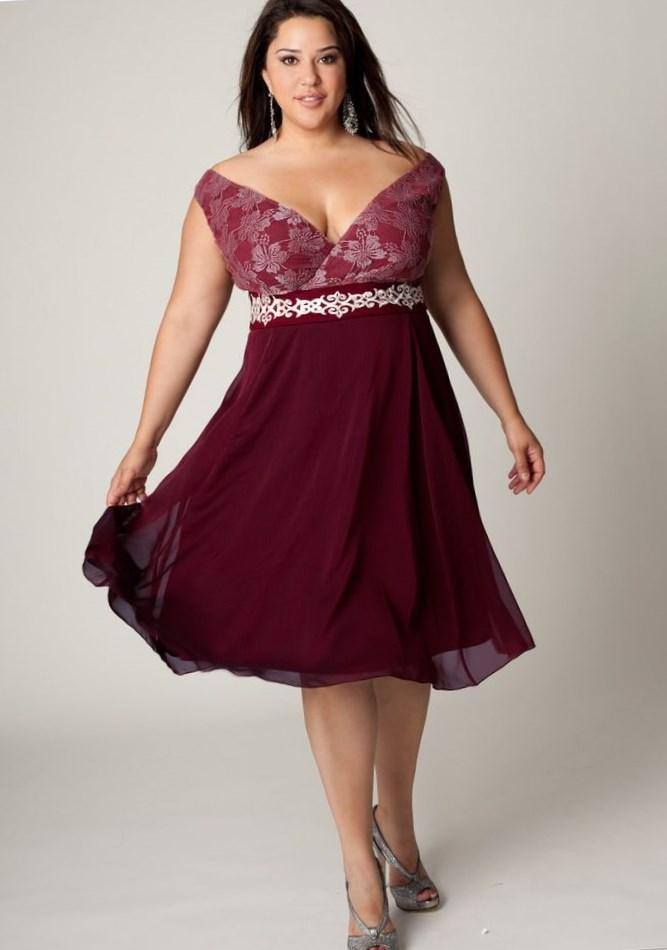 Fashion Dresses For Chubby