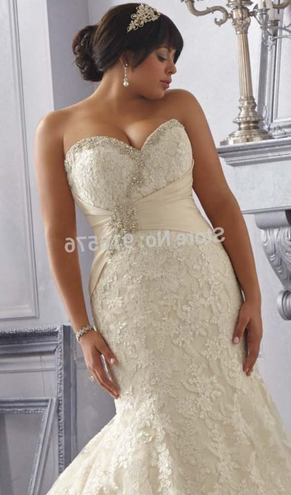 Plus Size Corset Wedding Dress Pluslook Collection