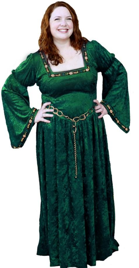 Renaissance dresses plus size - PlusLook.eu Collection