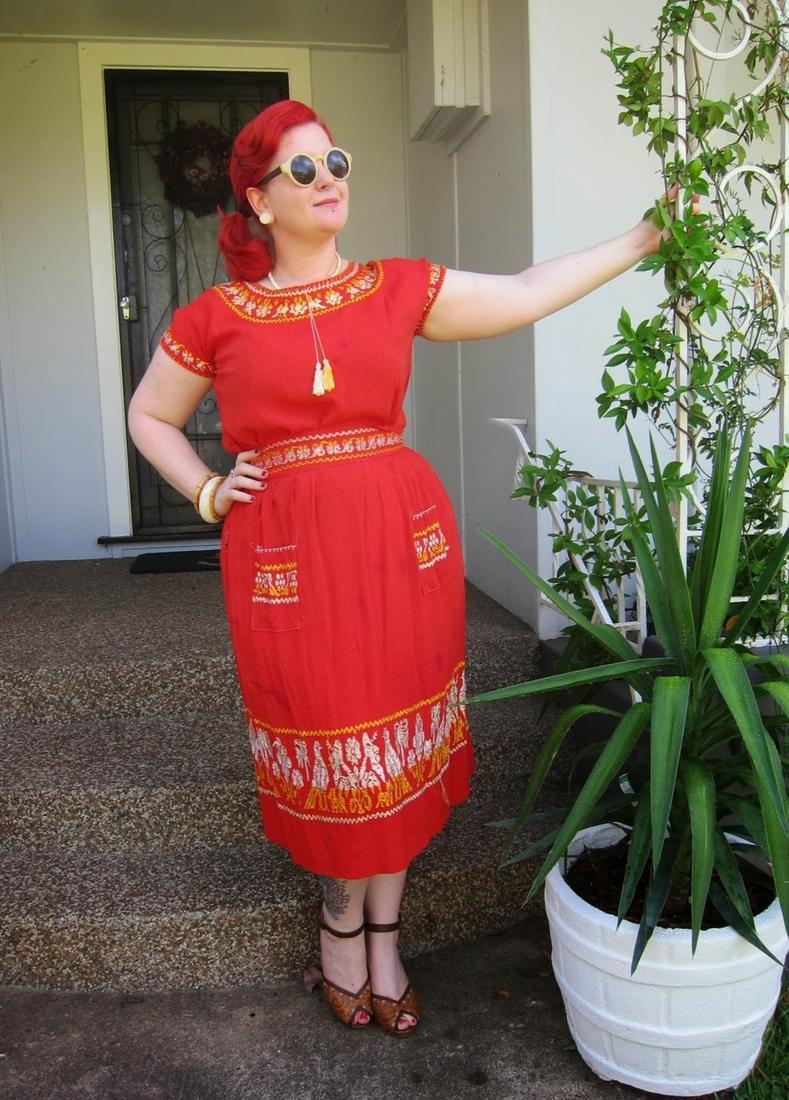 Plus Size Mexican Dress Pluslook Eu Collection