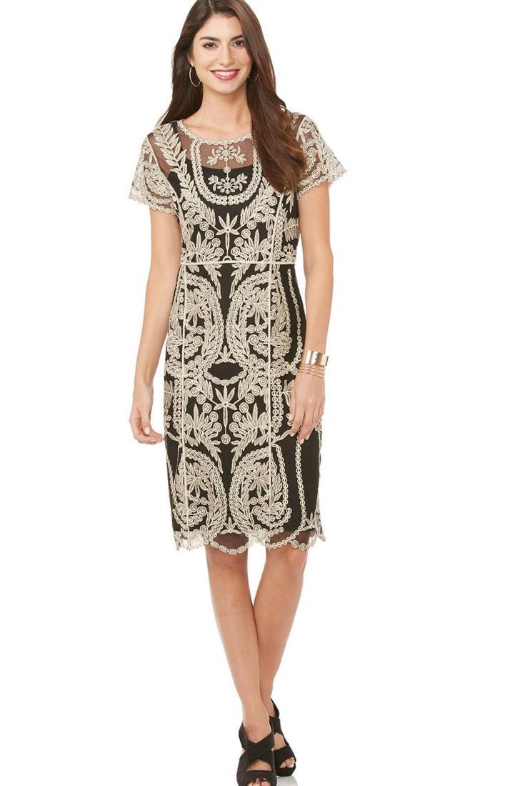 Chevron Dresses Plus Size Pluslook Eu Collection