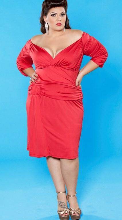 Plus size glamour dresses - PlusLook.eu Collection