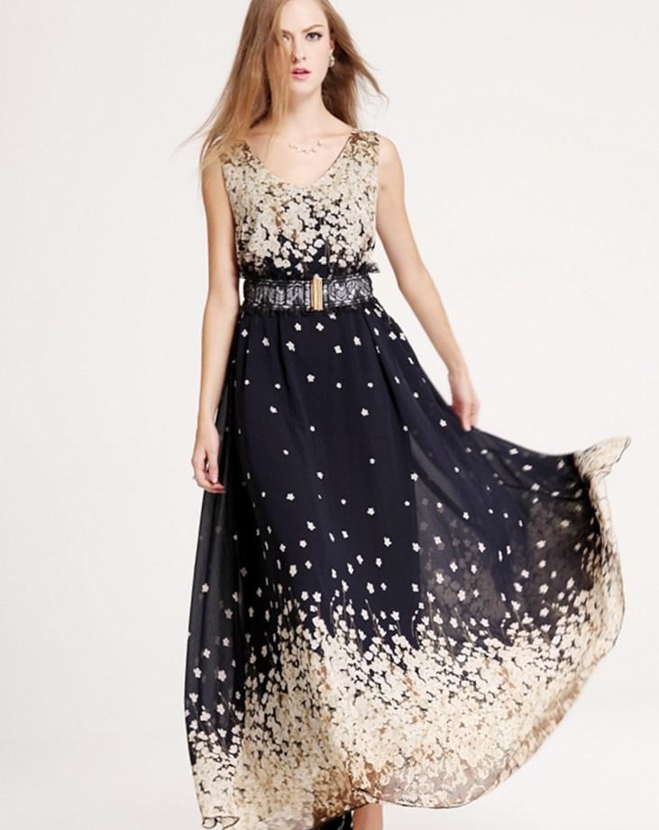 b960b5c285eb Floral maxi dress plus size - PlusLook.eu Collection