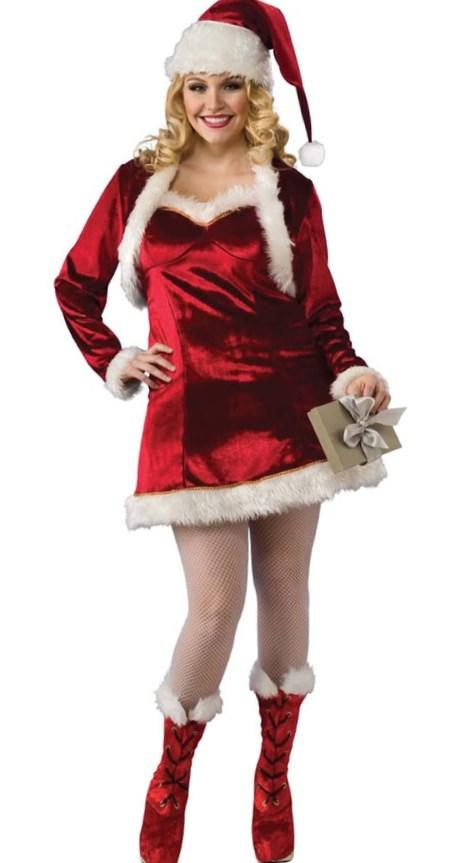 Plus Size Christmas Fancy Dress