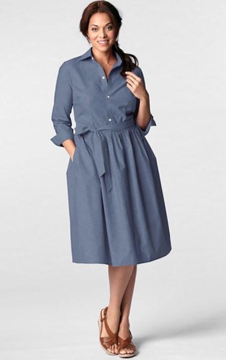 Lands\' End plus size dresses - PlusLook.eu Collection