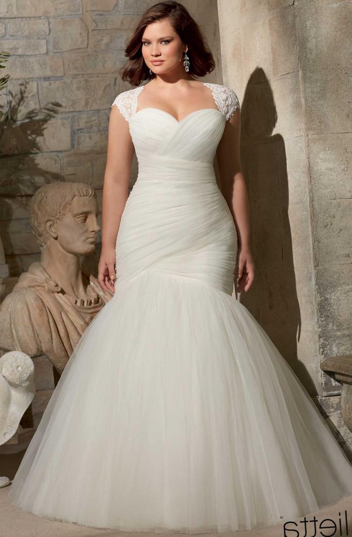 Best Plus Size Wedding Dress Style 22