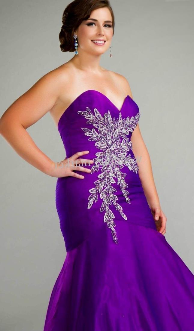 Plus size purple wedding dresses - PlusLook.eu Collection