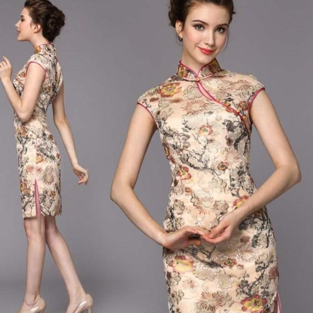 Plus size chinese dress - PlusLook.eu Collection
