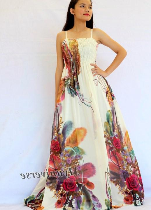 Floral maxi dress plus size - PlusLook.eu Collection