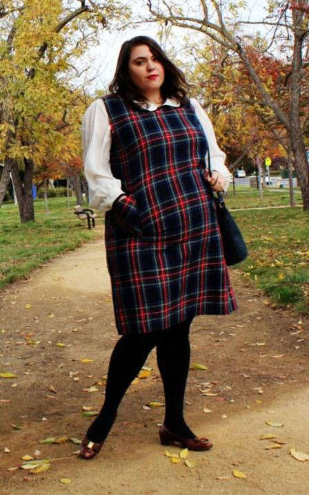 Plus Size Pinafore Dress Pluslook Eu Collection