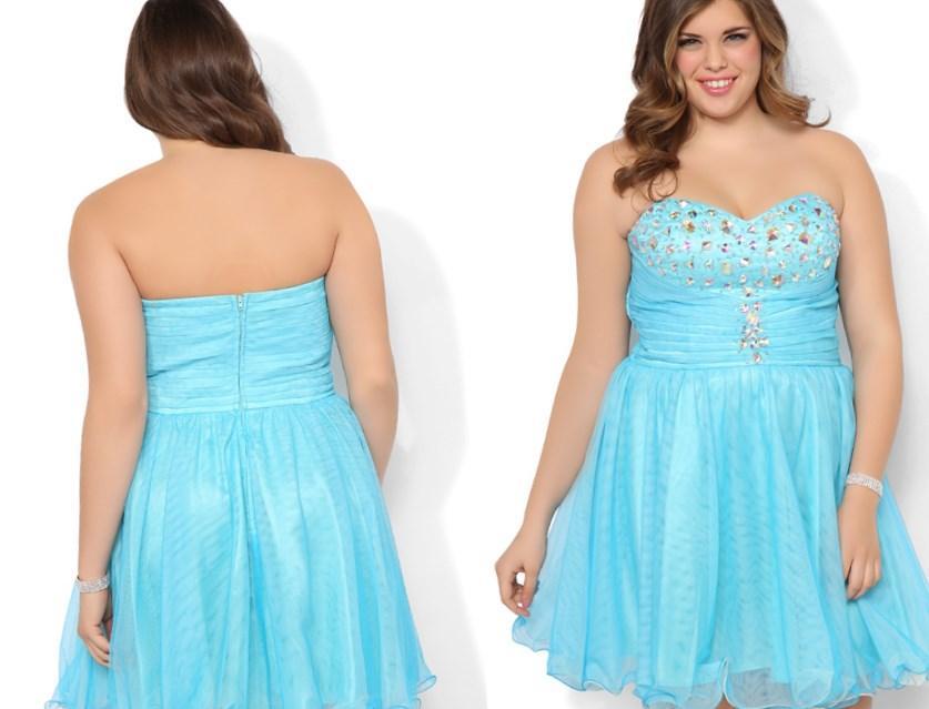 Short Plus Size Formal Dresses Pluslookeu Collection