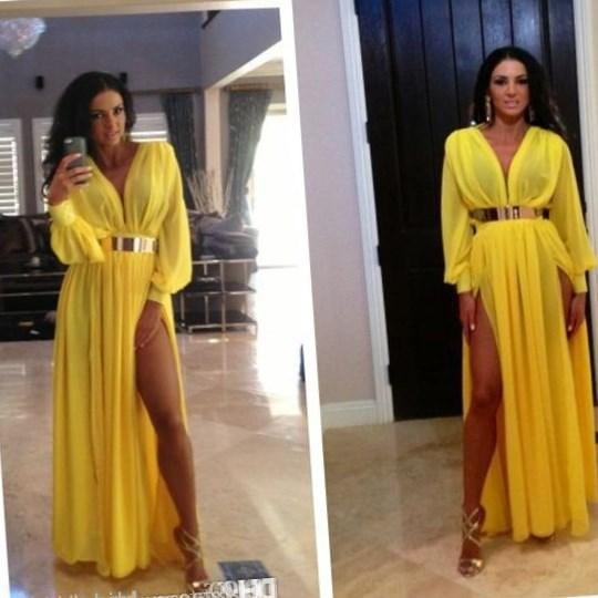 Yellow plus size prom dresses - PlusLook.eu Collection
