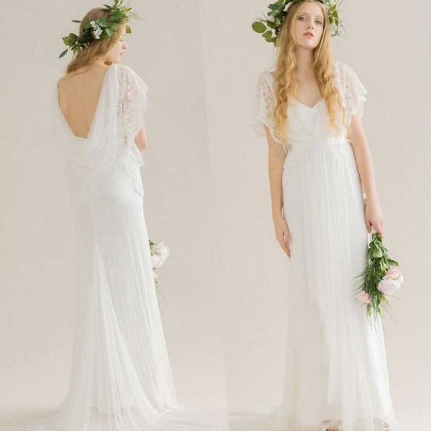 Plus Size Second Wedding Dresses: Plus Size Hippie Wedding Dresses