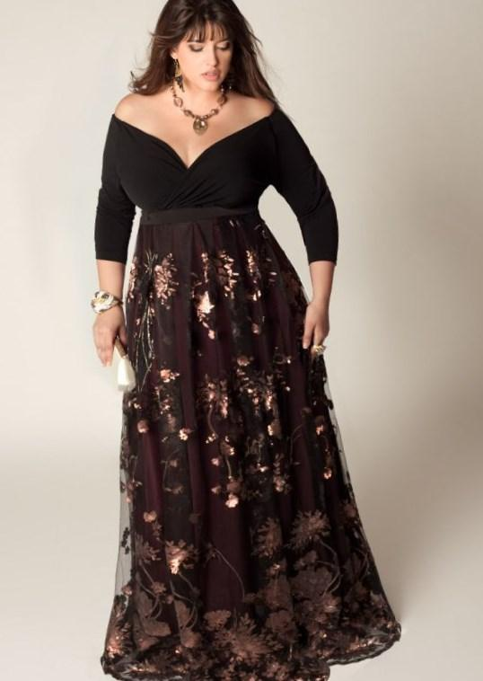 Plus size New Years eve dress 2019 - perfect for curvy women