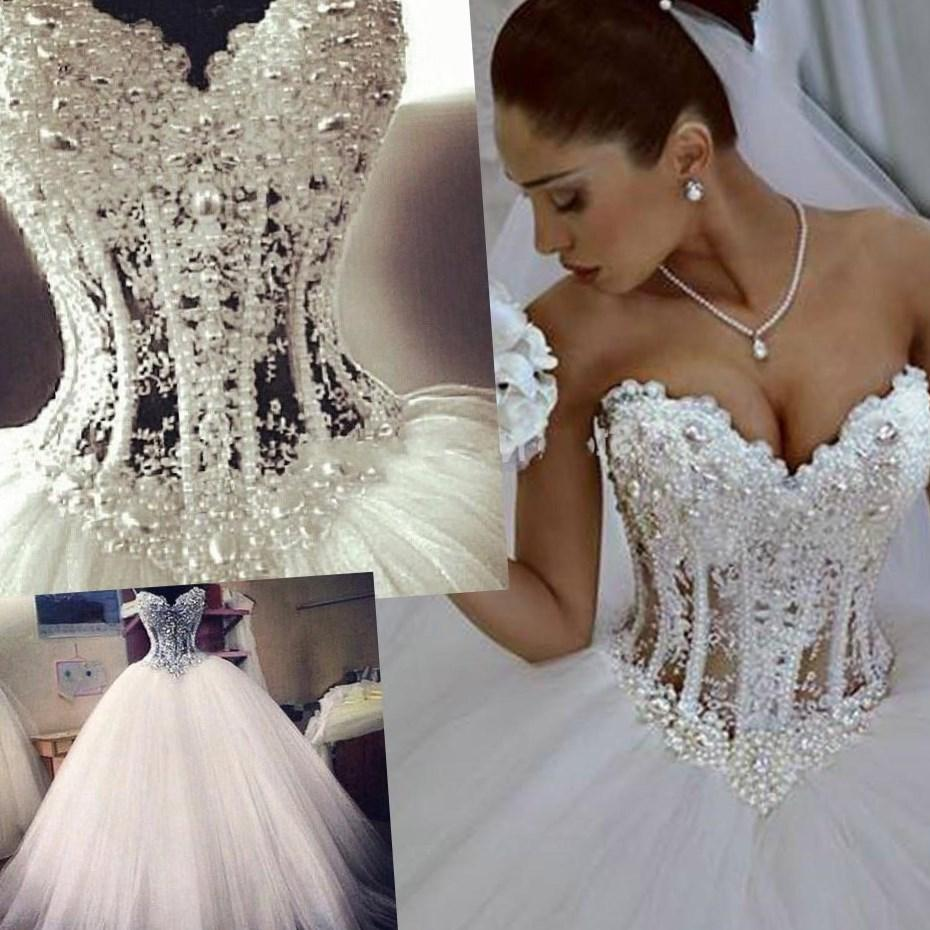 Plus size corset wedding dress - PlusLook.eu Collection