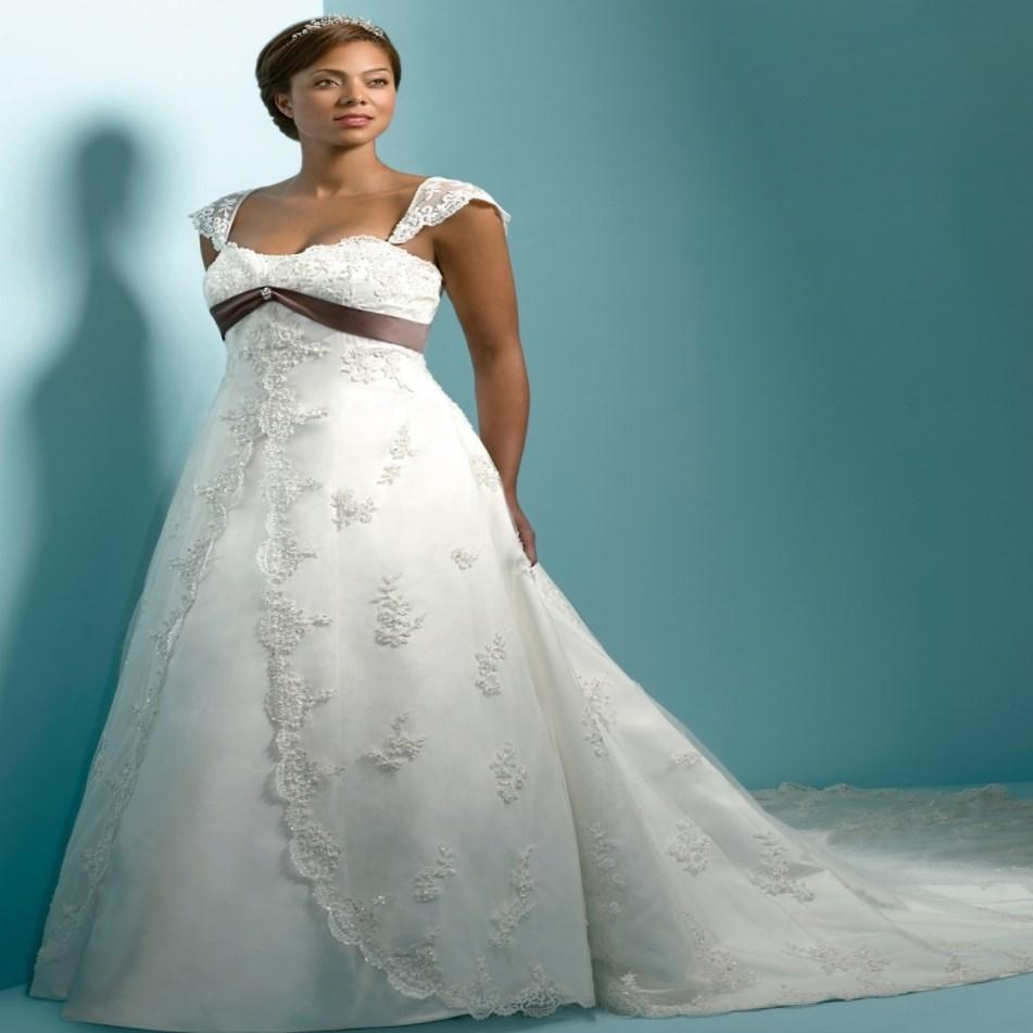 Non Traditional Plus Size Wedding Dresses