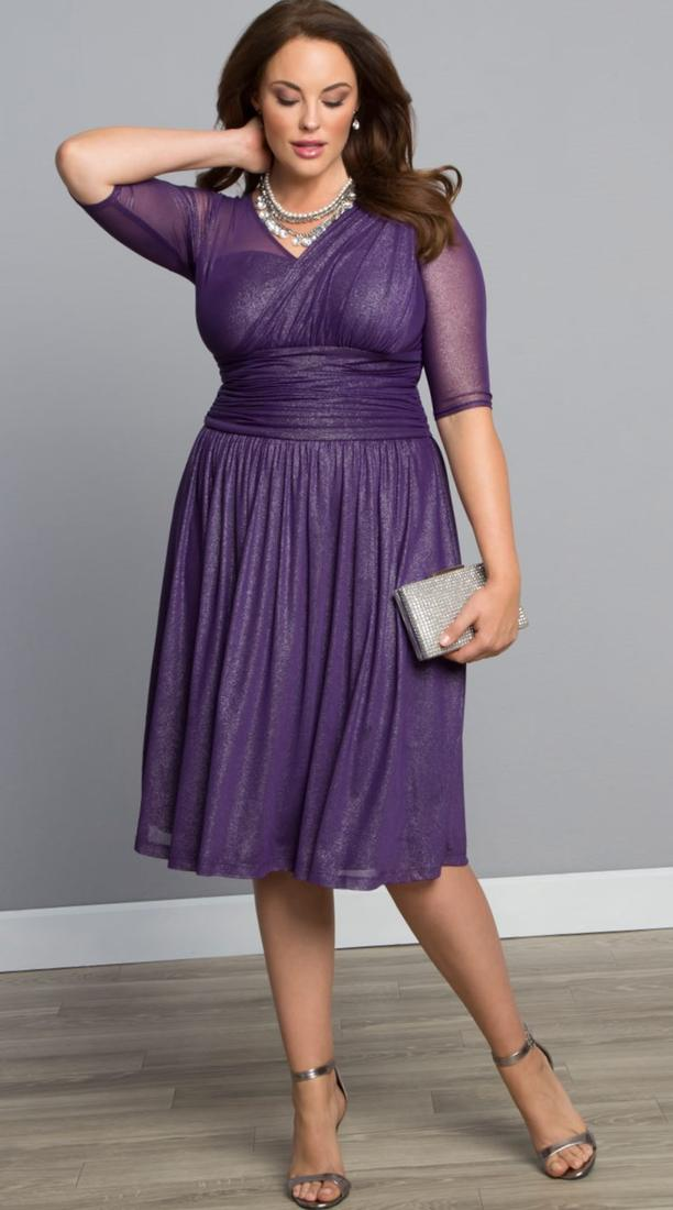 Semi formal dresses for plus size women - PlusLook.eu Collection