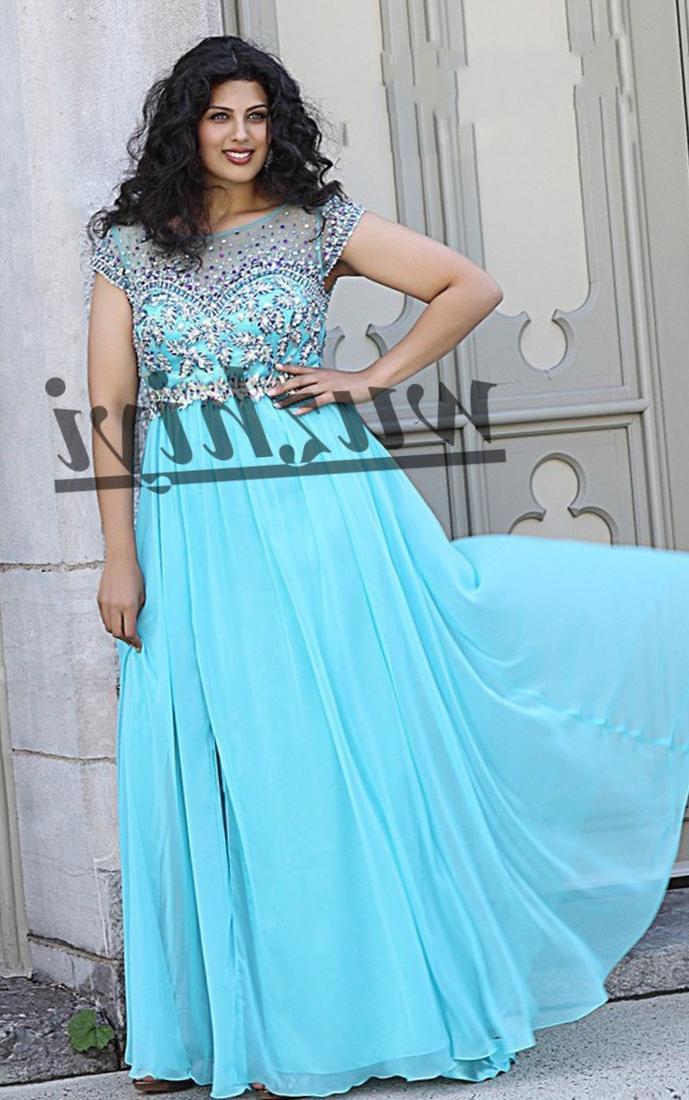 Modest Plus Size Formal Dresses Pluslookeu Collection