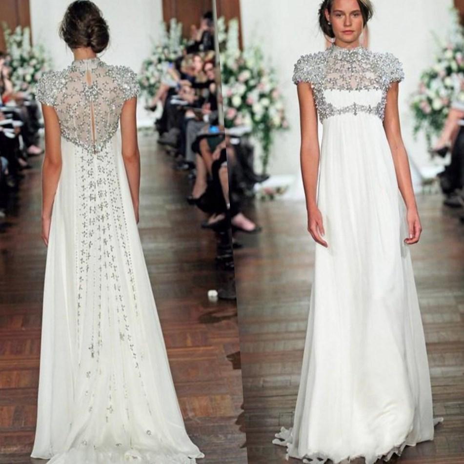 Silver wedding dresses plus size - PlusLook.eu Collection