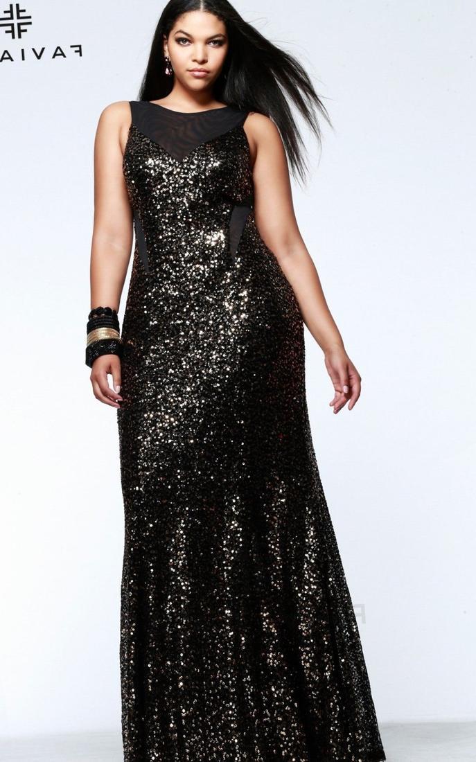 Plus size black dresses evening - PlusLook.eu Collection