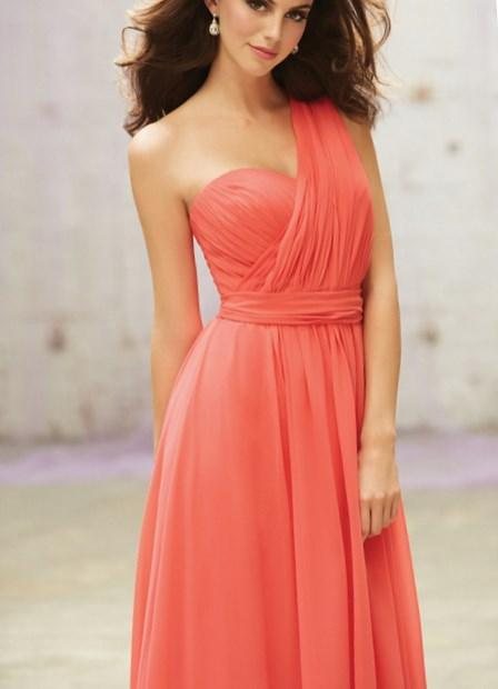 Plus size coral bridesmaid dresses - PlusLook.eu Collection