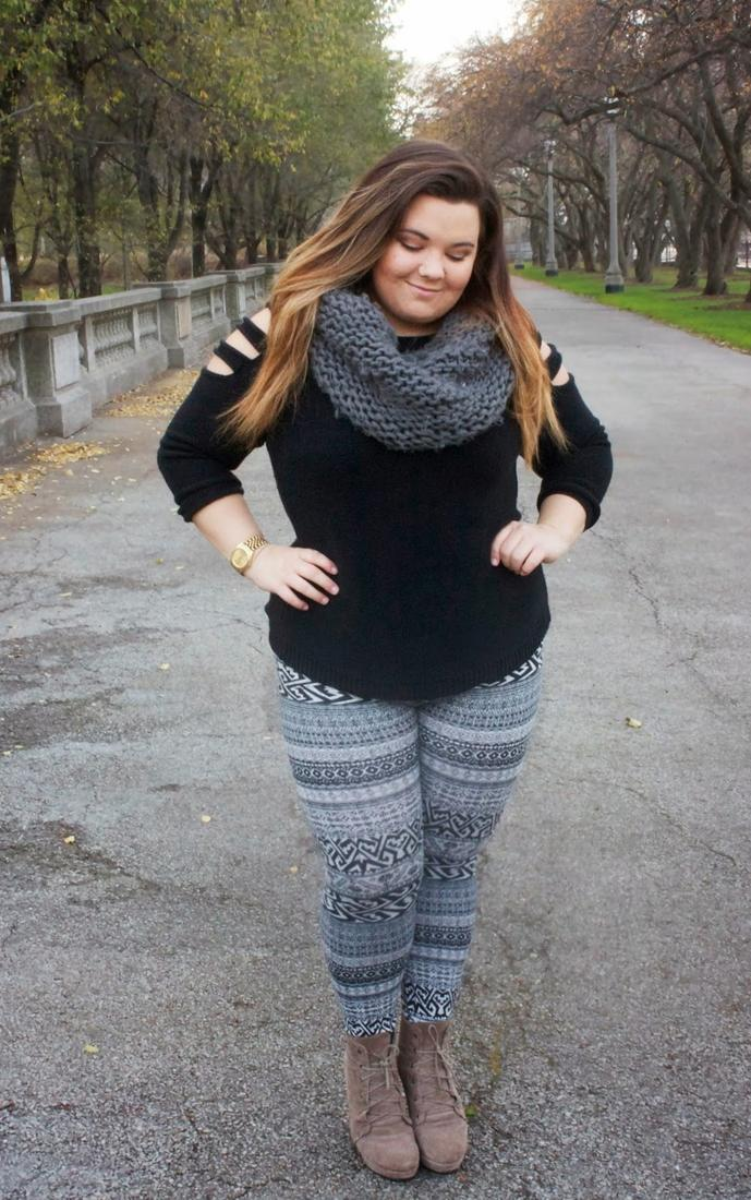 Plus Size Dress With Leggings Pluslook Eu Collection