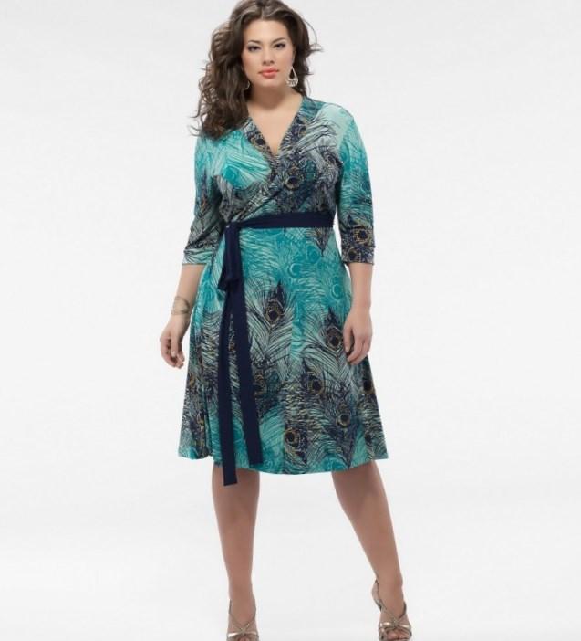 Plus size dress pattern - PlusLook.eu Collection