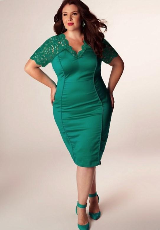 Mint green plus size dresses - PlusLook.eu Collection
