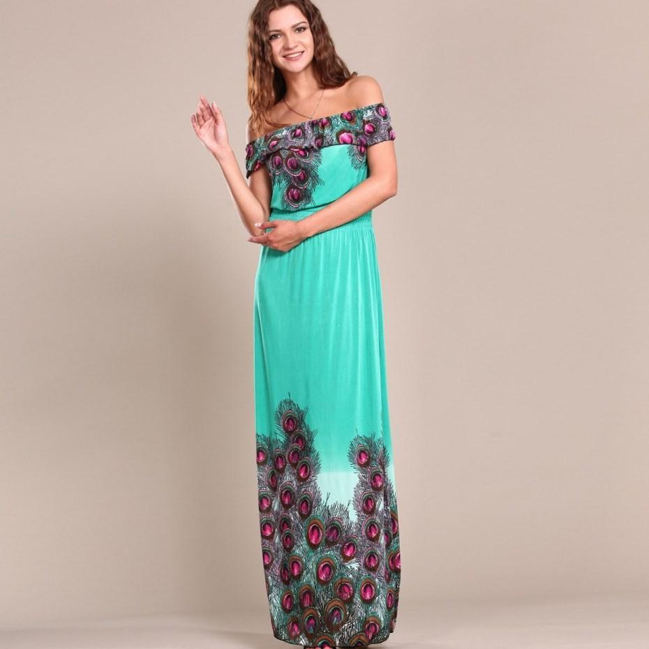 Plus Size Boho Maxi Dresses Pluslook Eu Collection