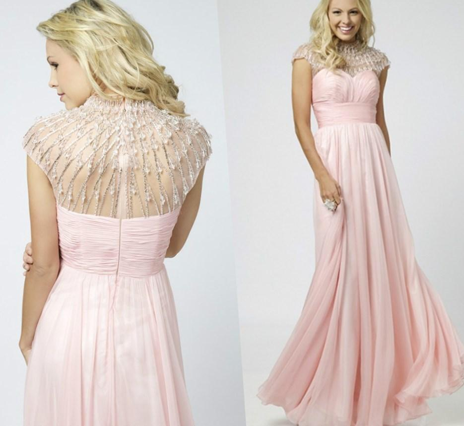 Modest Prom Dresses With Sleeves Under 160 33