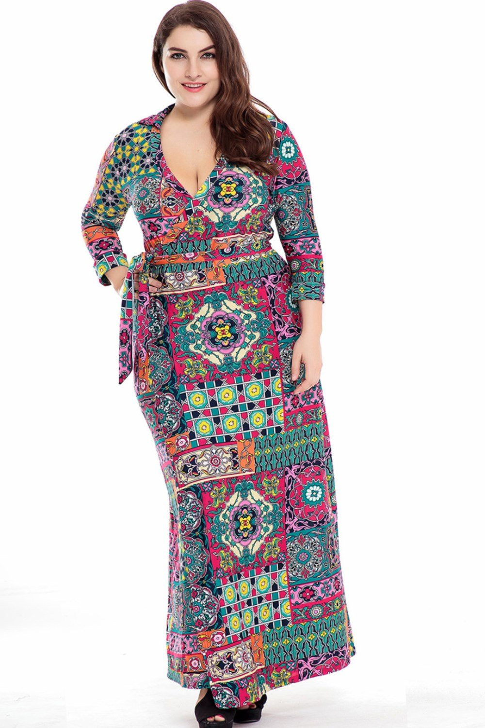 Plus size fall maxi dresses 2019 - PlusLook.eu Collection